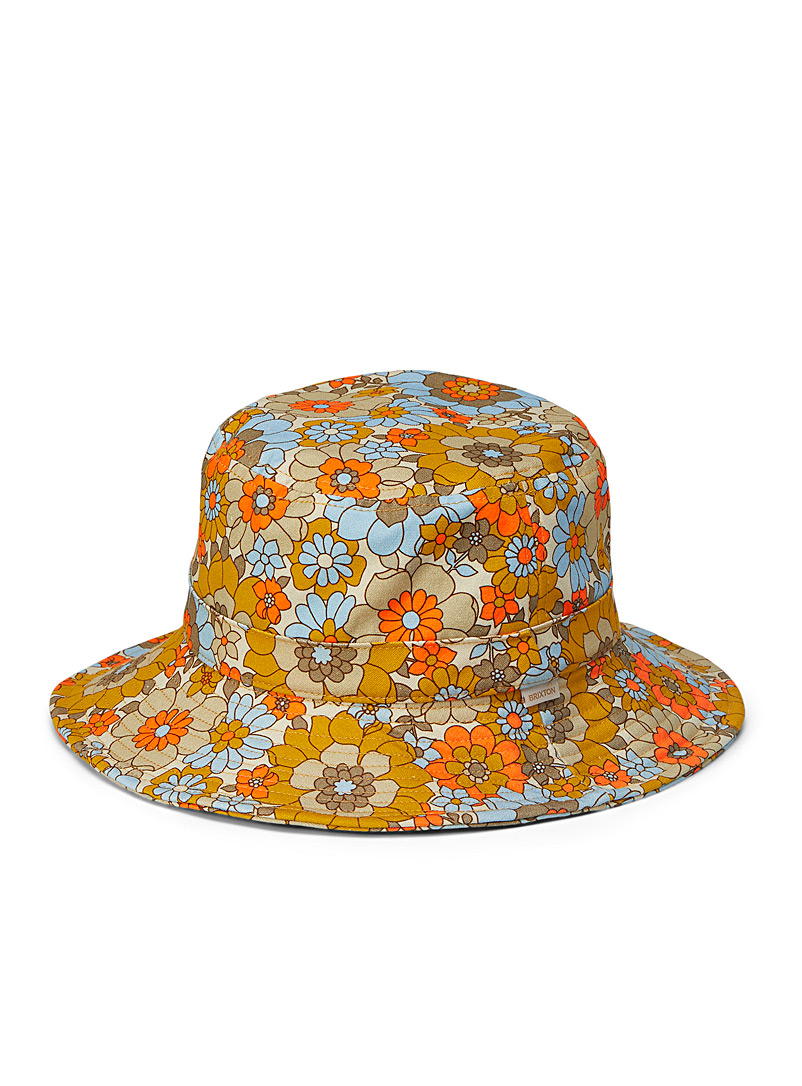 Brixton Assorted Petra compact bucket hat for women