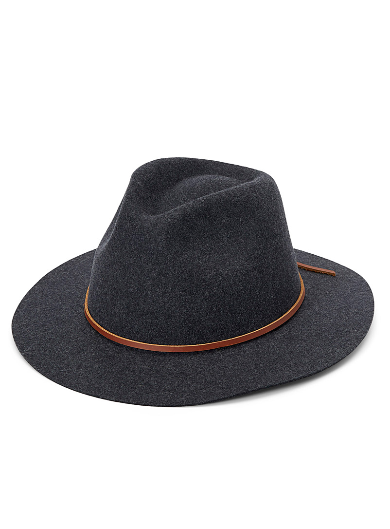 Brixton Grey Wesley fedora for women