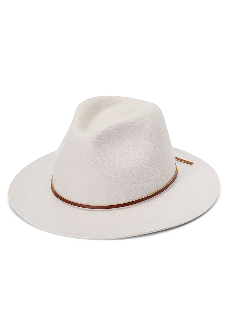 Brixton Brown Wesley fedora for women