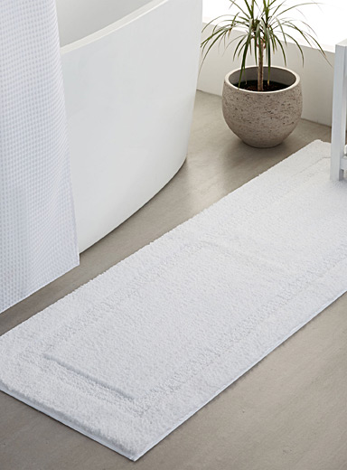 double sink square border mat 50 x 150 cm simons maison