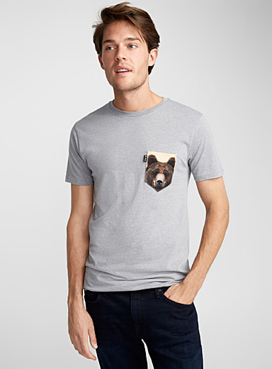 Bear Grylls pocket T-shirt