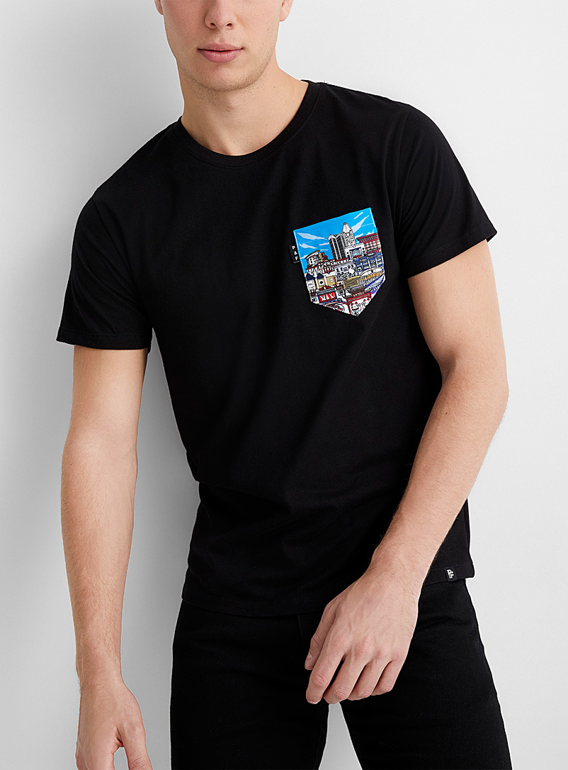 Downtown pocket T-shirt