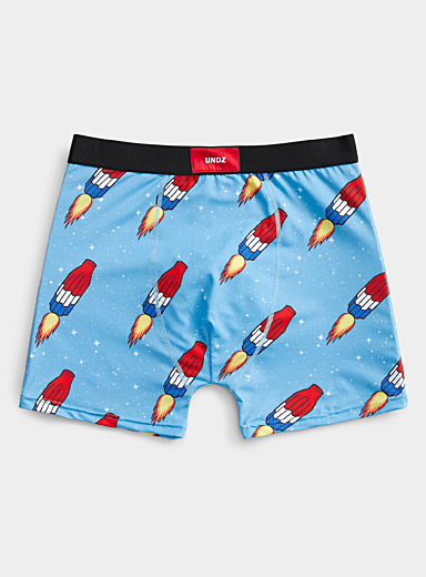 Space ice pops boxer brief