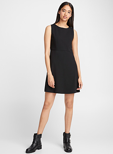 Fit-and-flare career dress