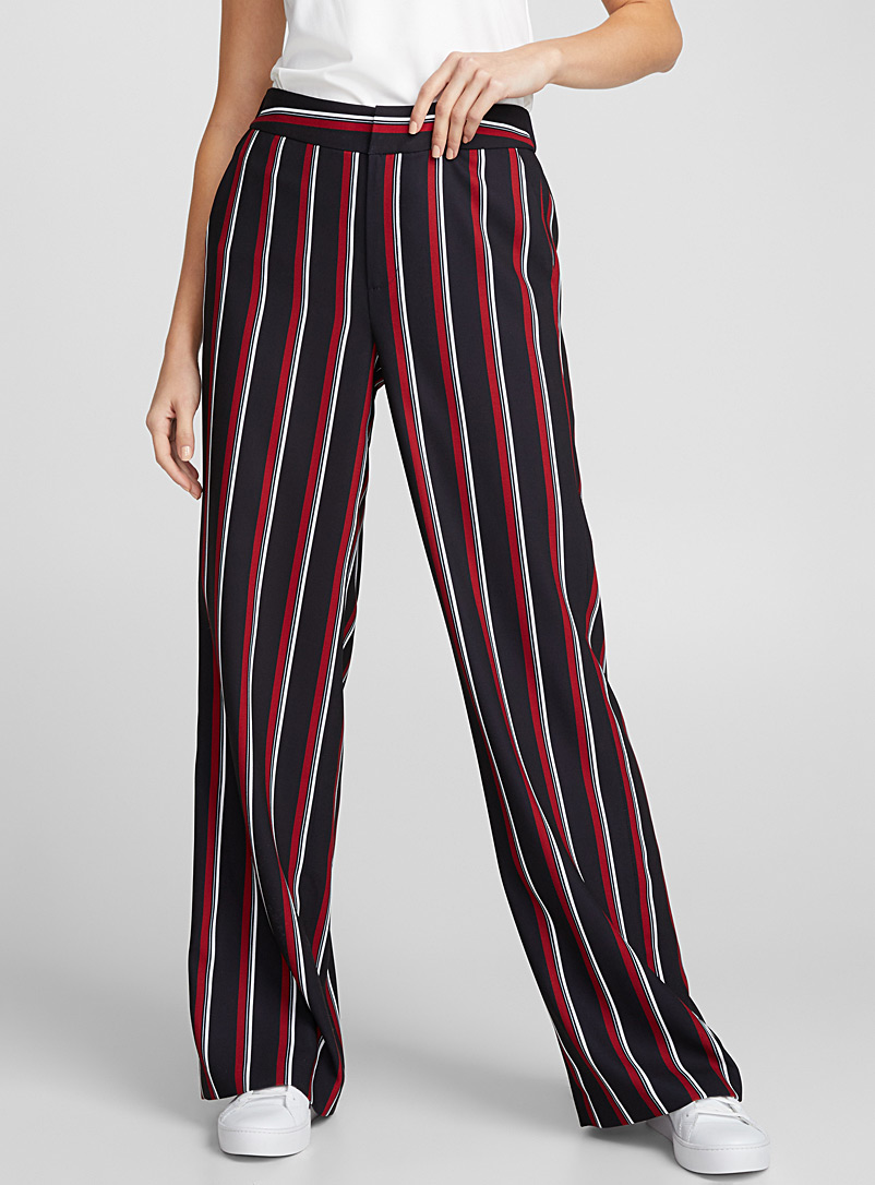 Fluid wide-leg pant - Pants - Assorted