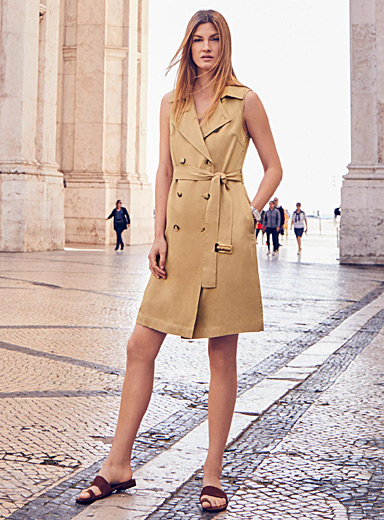 La robe trench lyocell