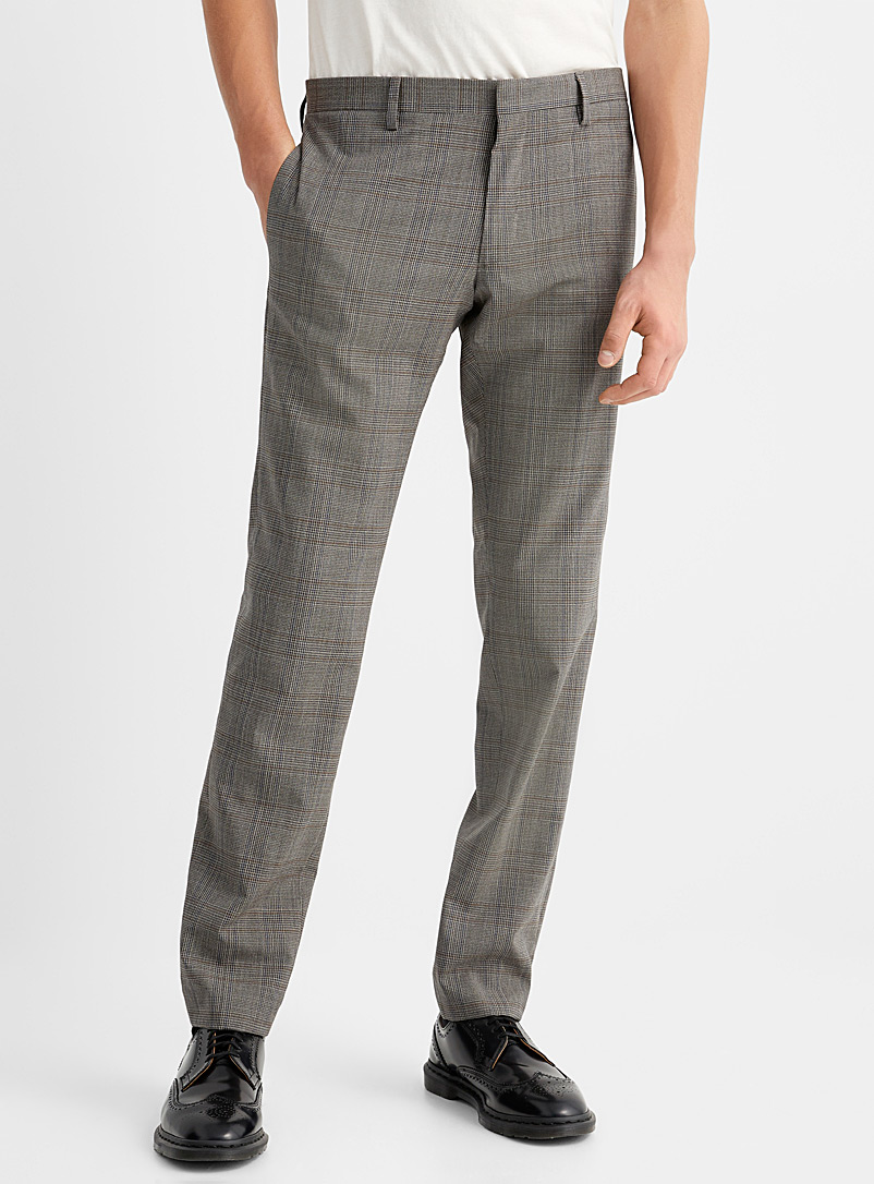 The Kooples Grey Prince of Wales pant for men