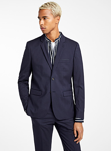Tennis stripe blazer