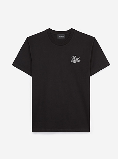 The Kooples: Le t-shirt logo The Kooples Noir pour homme