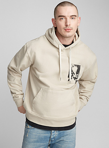 Accent inserts hoodie