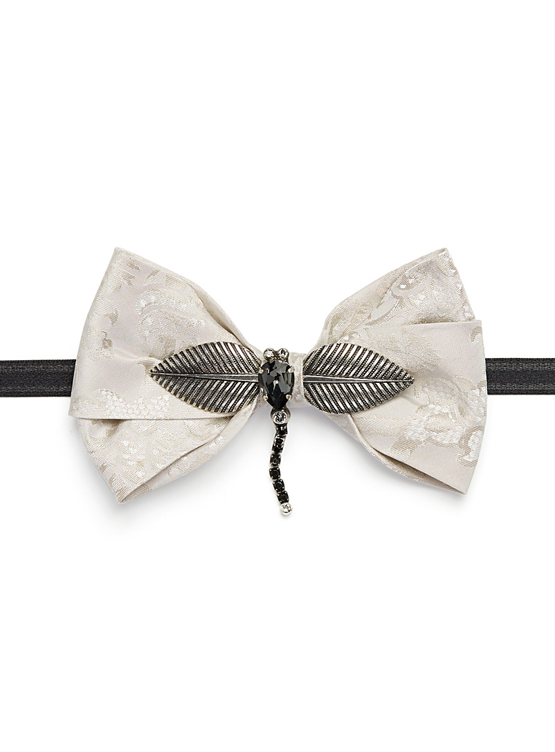 Dragonfly bow tie - Bow Ties - Grey