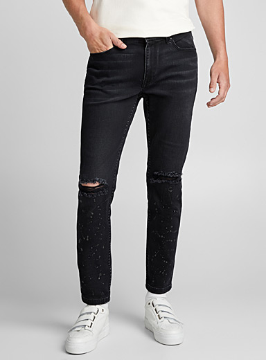 Le jeans Distressed