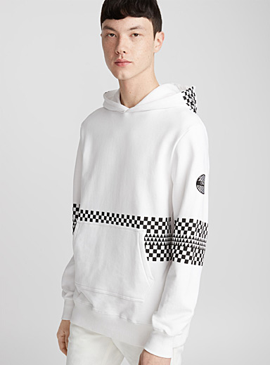 Checker sweatshirt