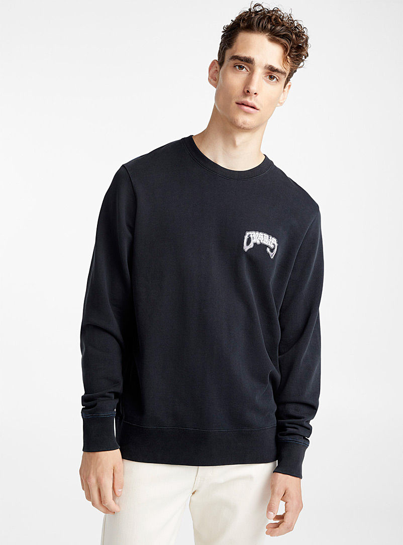 Bone Logo sweatshirt - Ovadia & Sons - Black