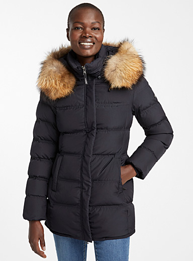 Sabine quilted down parka