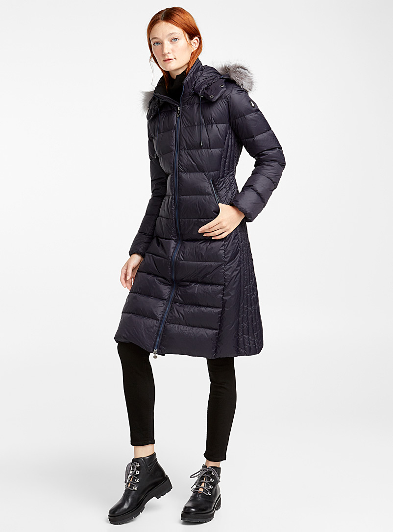 Snowman Marine Blue Original 883 puffer jacket for women
