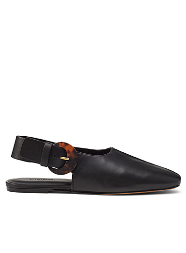 Cadot leather mules