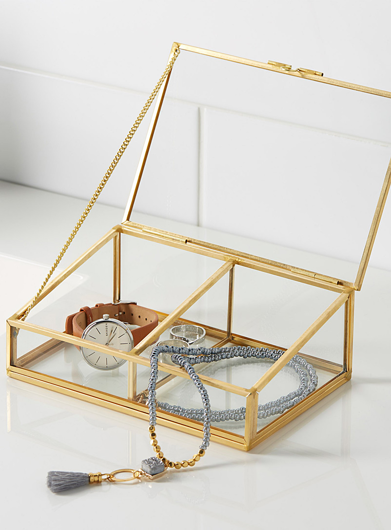 Golden frame jewellery box - Baskets & Storage - Assorted