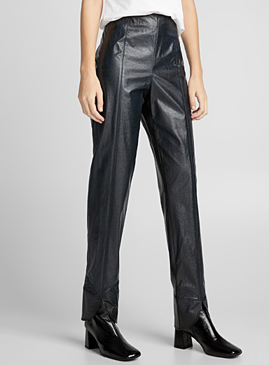 Panelled straight pant