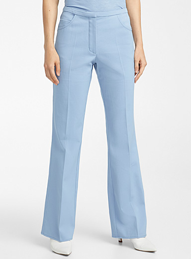 Courrèges Slate Blue Azure pant for women