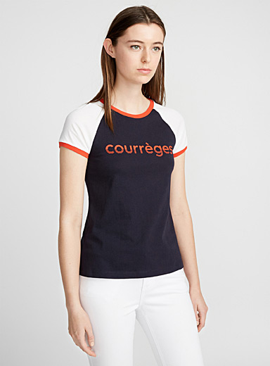 Courrèges sporty T-shirt