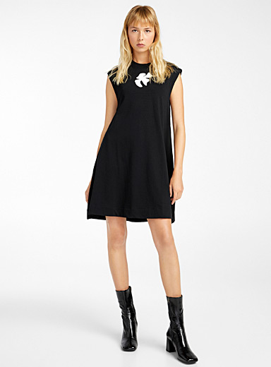 Courrèges Black A-line dress for women