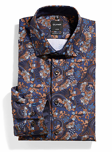 Floral paisley shirt <br>Modern fit