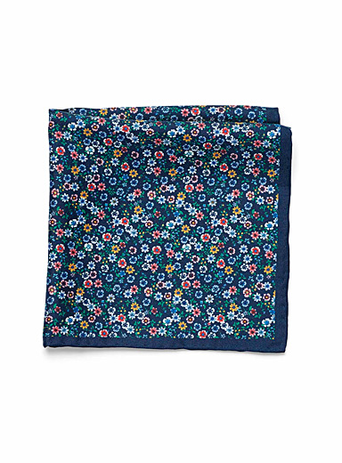 Wildflower pocket square