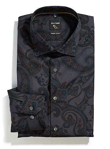 Macro paisley shirt  Tailored fit