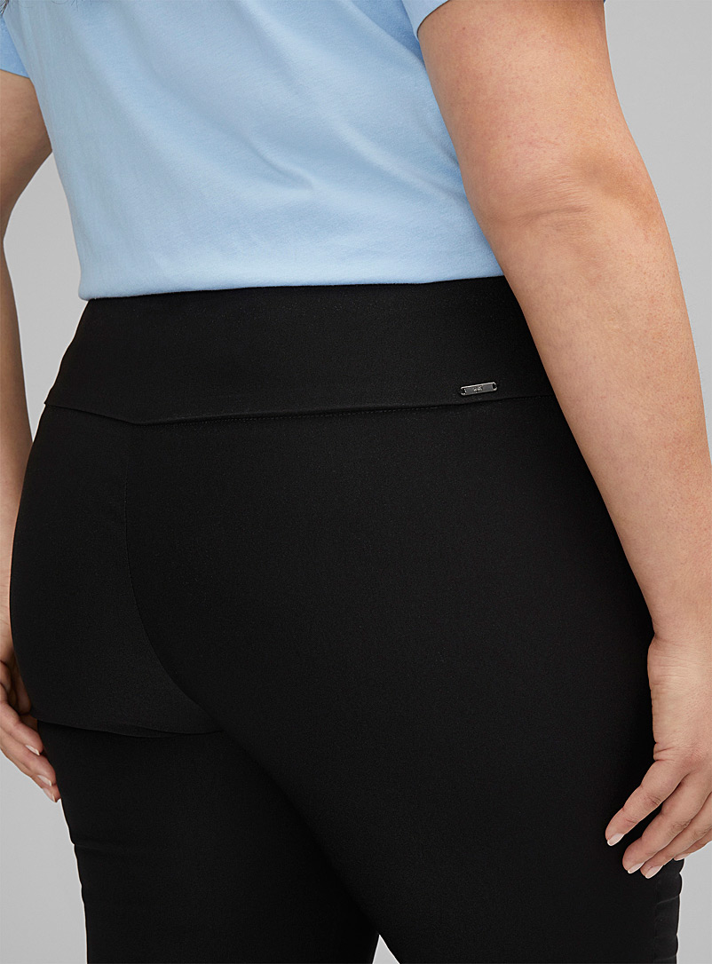 Up! Grey Essential slimming ankle pant Plus size for women
