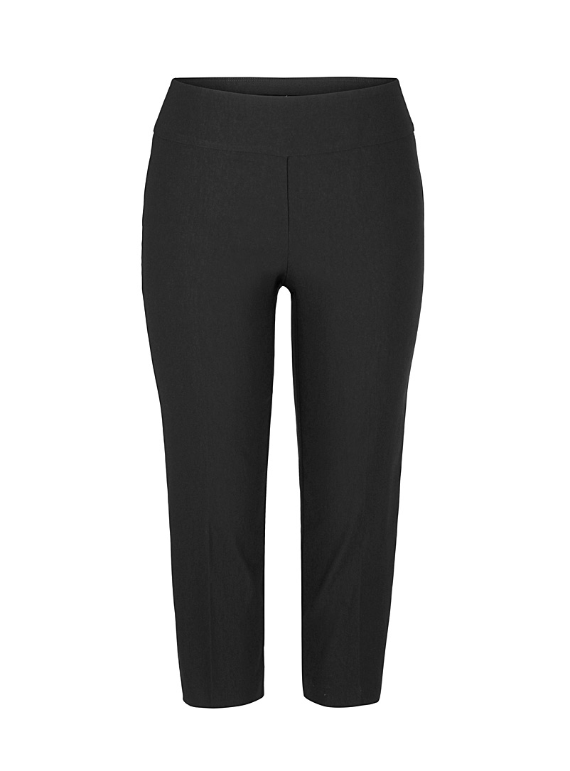 Up! Black Essential slimming capris for women