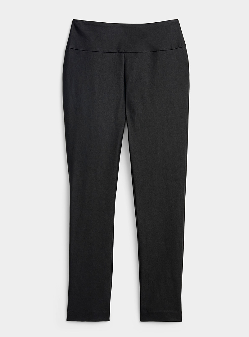Satiny essential slimming pant