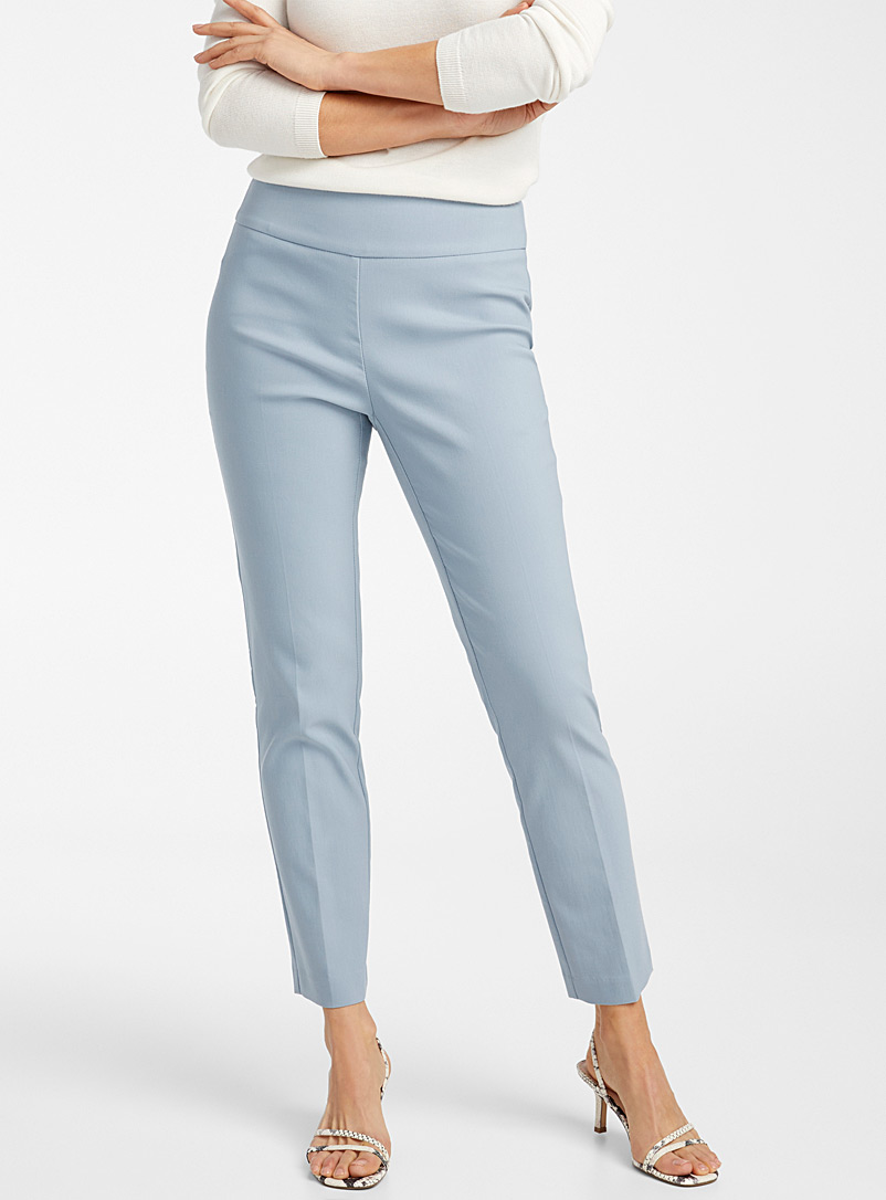 Up! Slate Blue Essential slimming pant for women