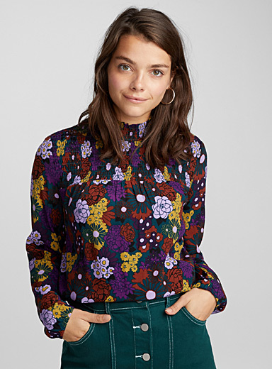 Flower power blouse