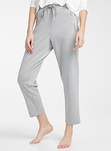 Miiyu Grey Utility lounge pant for women