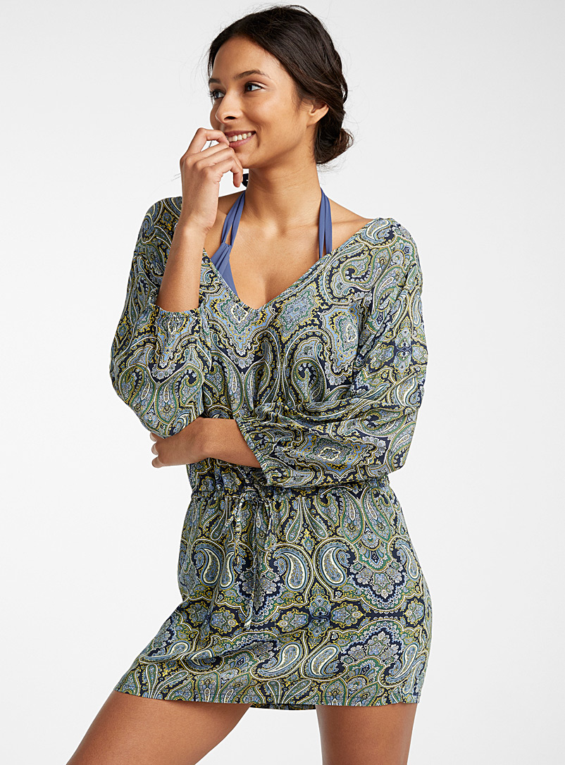eco-friendly-viscose-v-neck-tunic