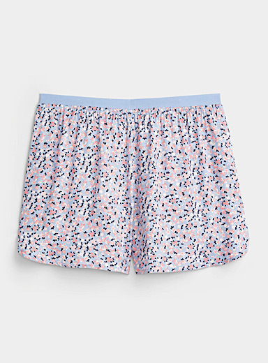 Lightweight patterned boxer brief