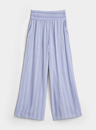 Summery print lightweight pant