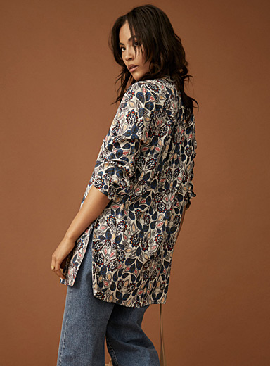 Luxurious paisley tunic