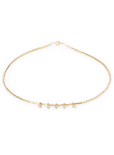 Le collier perles baroques