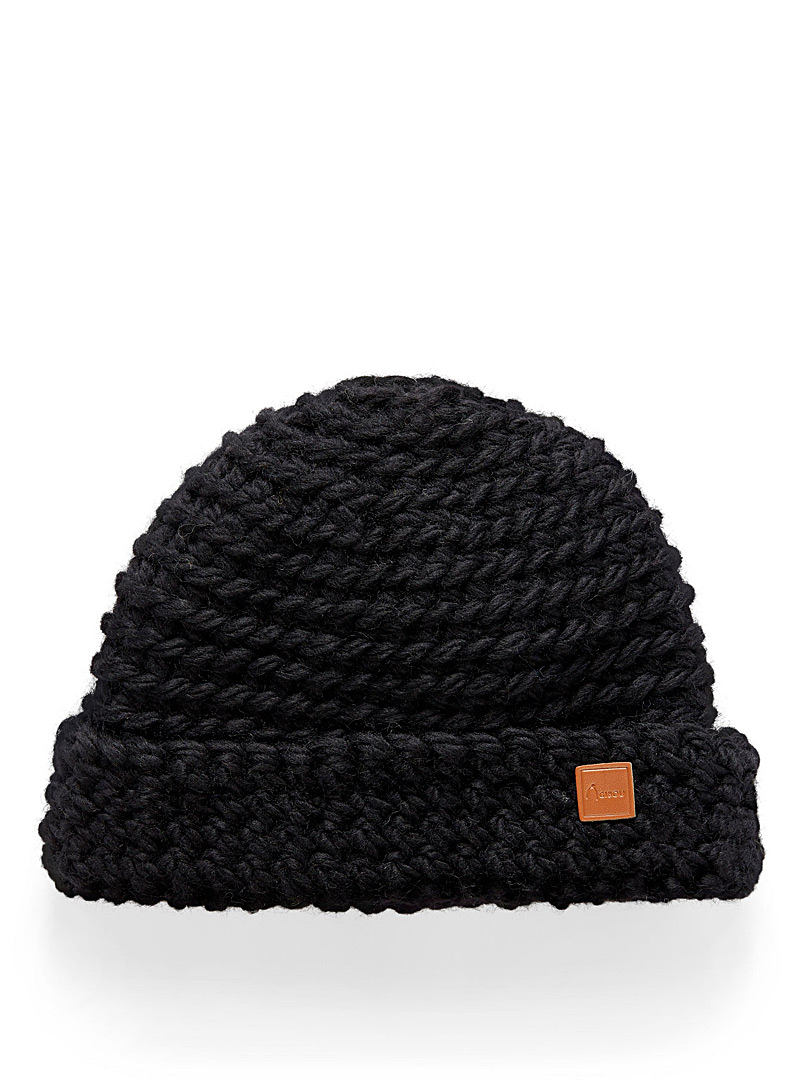 Adorable knit cuff tuque - Tuques & Berets - Black