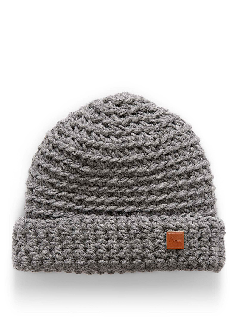 Adorable knit cuff tuque - Tuques & Berets - Silver