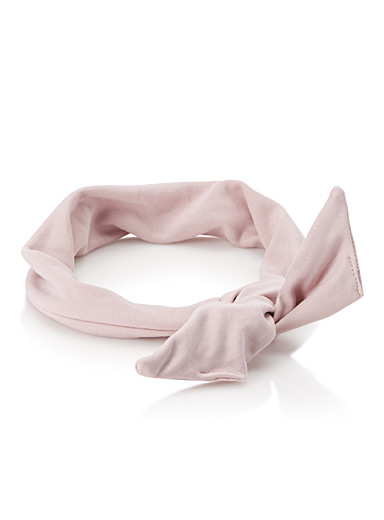 Ultra-soft tie headband