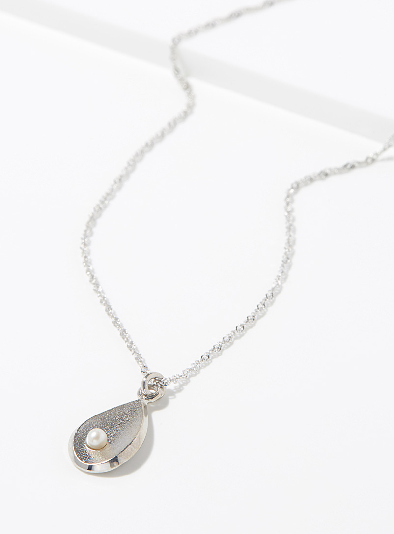 Jean bastien Silver Airy style necklace for women