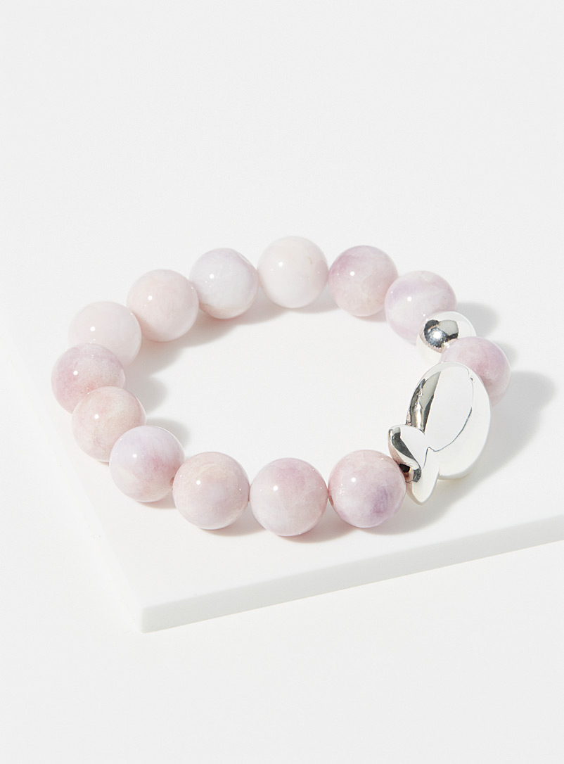 Clio blue Pink Agathe pink bracelet for women