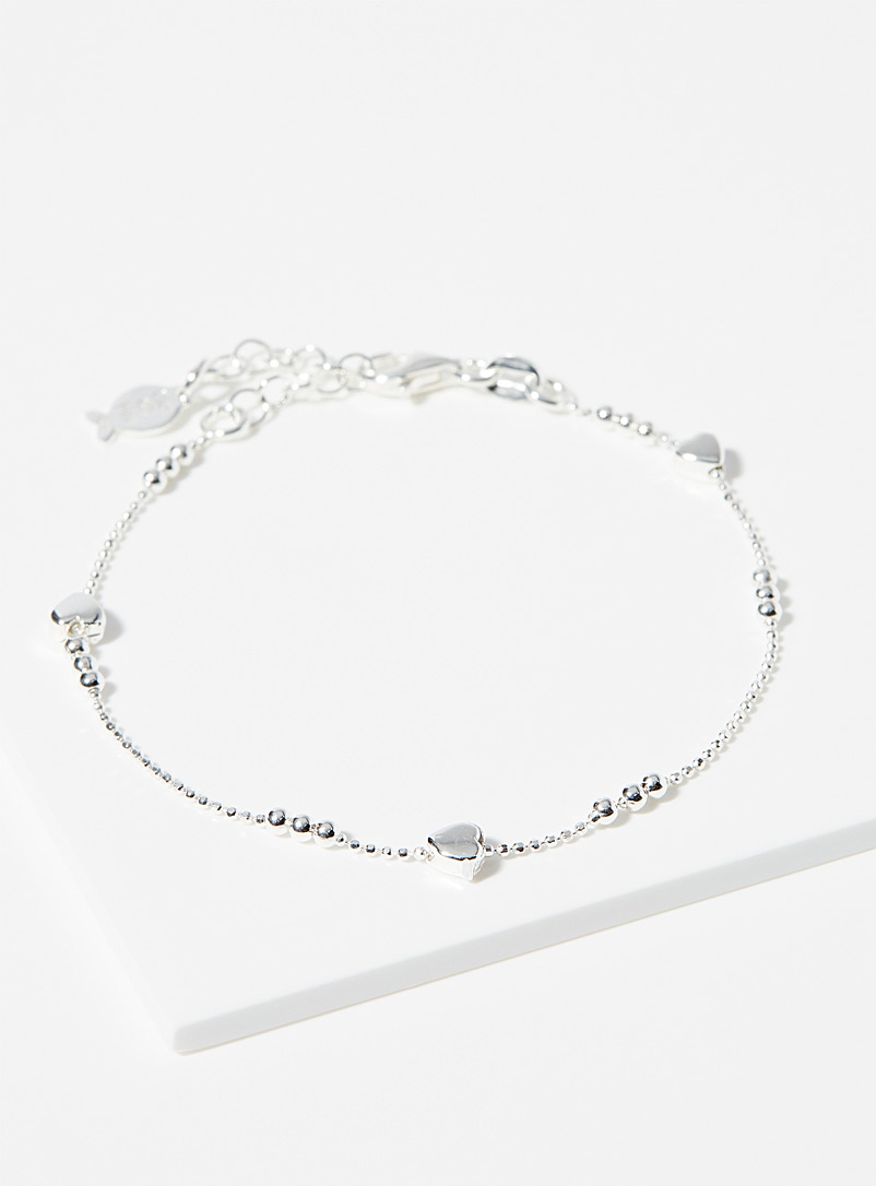 Clio blue Silver Daphné bracelet for women