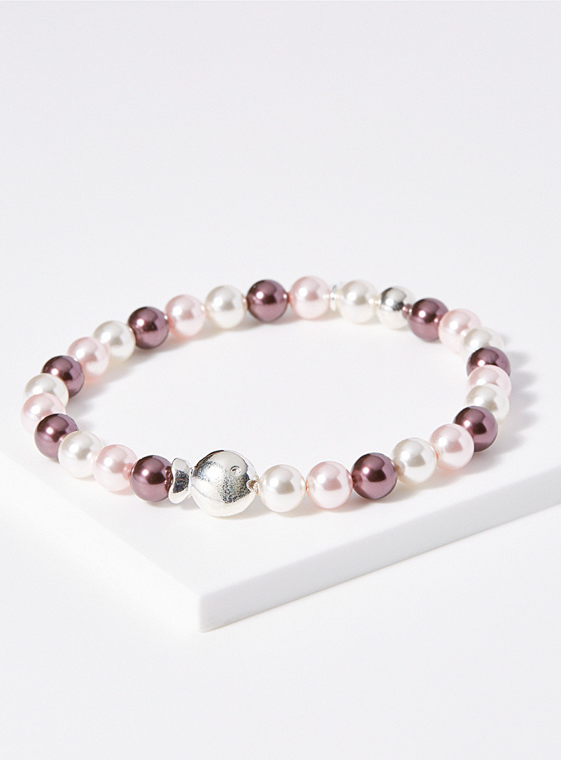 Dazzling mother-of-pearl bracelet