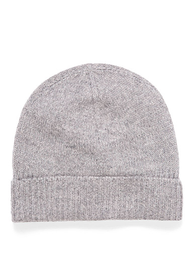 Pure cashmere tuque