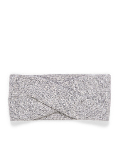 Pure cashmere headband