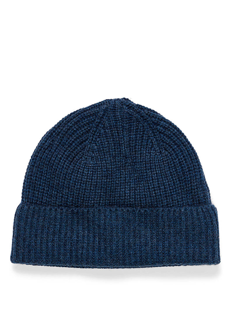 Pure cashmere tuque - Tuques - Dark Blue